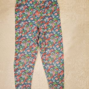 4for$20!! Carter's floral printed leggings size 2t